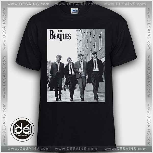 d697fc0c Buy Tshirt The Beatles Walking Down Street Tees Size S-3XL