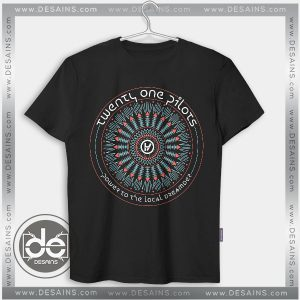 Buy Tshirt Twenty One Pilots Power to Local Dreamer Tshirt Womens Tshirt Mens Size S-3XL