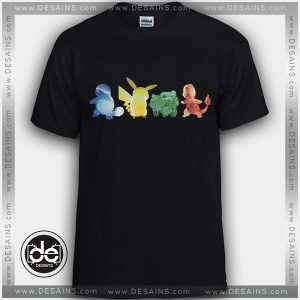 Buy Tshirt Pokemon Water Electricity Earth Fire Tshirt Womens Tshirt Mens Tees Size S-3XL