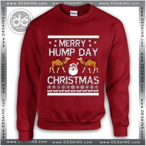 Buy Sweatshirt Ugly Christmas Hump day Sweater Womens and Sweater Mens