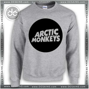 Buy Sweatshirt Arctic Monkeys Logo Circle Sweater Womens and Sweater Mens