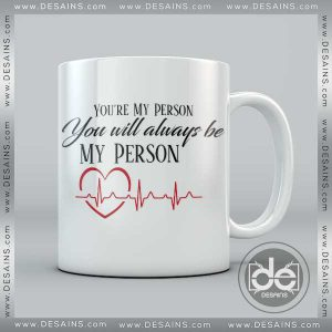 Buy Mug Grey Anatomy Quote Person Custom Coffee Mug, Cup Coffee Print
