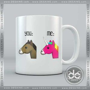 Buy Mug Unicorn You and Me Custom Coffee Mug, Cup Coffee Print