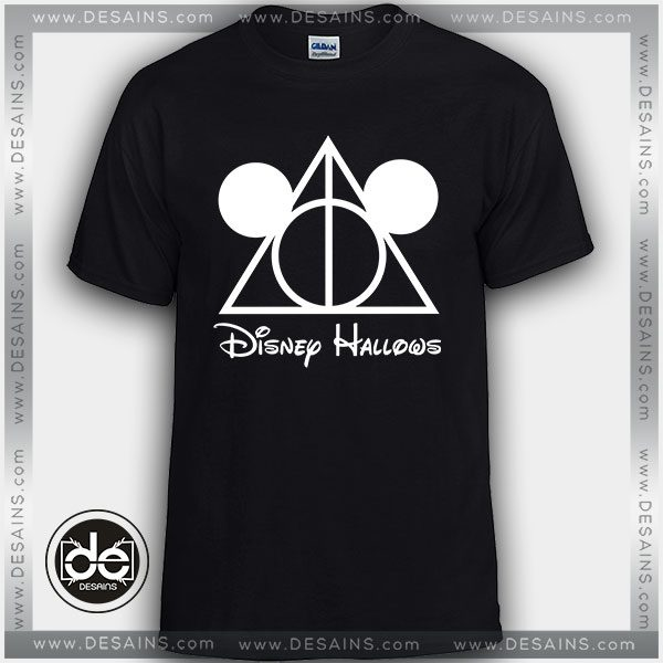 Buy Tshirt Mickey Mouse Harry Potter Deathly Hallows Tshirt Womens Tshirt Mens