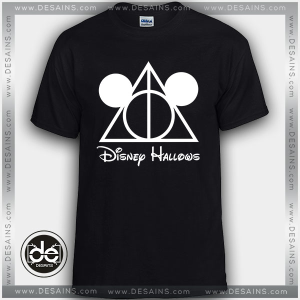 3c6a4013 Tshirt Mickey Mouse Harry Potter Deathly Hallows Tshirt Womens Mens