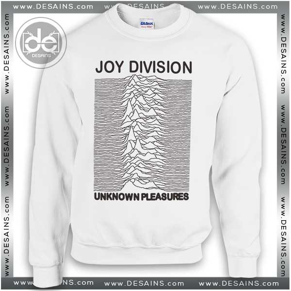 c1012b3b0 Sweatshirt Joy Division Unknown Pleasures Sweater Womens and Mens