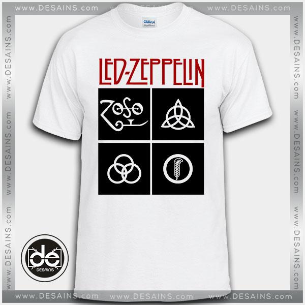 Buy Tshirt Led Zeppelin Symbols Tshirt Print Womens Mens Size S 3xl