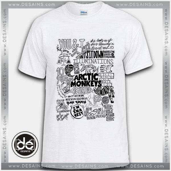 cef0215dca7 Buy Tshirt Arctic Monkeys Suck It And See Tshirt Womens Tshirt Mens