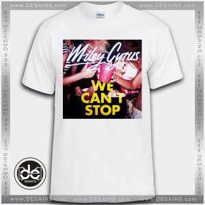 Buy Tshirt Miley Cyrus We Can't Stop Tshirt Womens Tshirt Mens Tees Size S-3XL