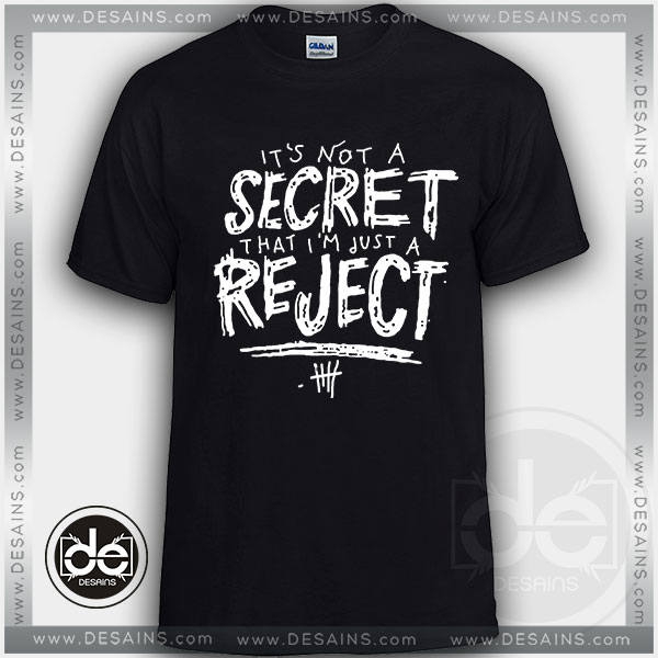Buy Tshirt 5SOS Rejects Lyrics Custom T Shirt Online Store 4e5b221a9