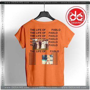 Best Tee Shirt Dress Life Of Pablo Kanye West Tshirts Custom