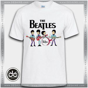 Best Tee Shirt The Beatles Cartoon Custom Tshirt Review