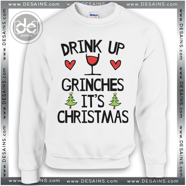 Best Ugly Christmas Sweater Drink Up Grinches Review