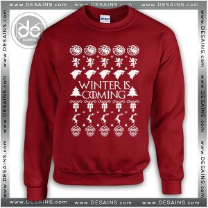 Best Ugly Christmas Sweater smov01 Winter is Coming Review