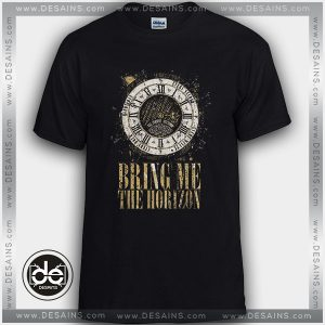 Cheap Tee Shirt Bring Me the Horizon Clock Custom Tshirt