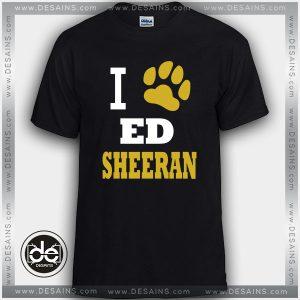 Cheap Tee Shirt Dress Ed Sheeran Paw print Tshirt