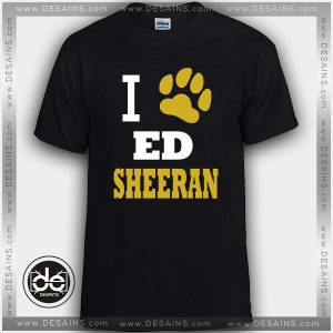 Cheap Tee Shirt Dress Ed Sheeran Paw print Tshirt