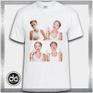 Cheap Tee Shirt Dress Miley Cyrus Smoking Custom Tshirt