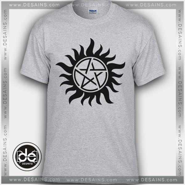 Cheap tee shirt dress supernatural tattoo custom tshirt for Affordable custom dress shirts online