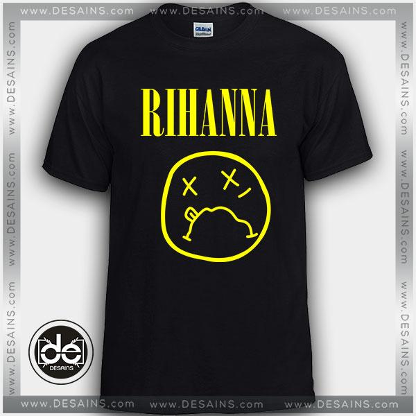 f8d211d83f87 Cheap-Tee-Shirt-Rihanna-Logo-Nirvana-Custom-T-Shirt.jpg
