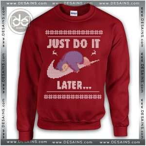 Best Ugly Christmas Sweater Snorlax Just Do it Later Review