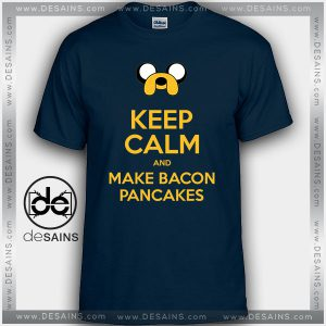 Cheap Graphic Tee Shirts Adventure Time Bacon Pancakes