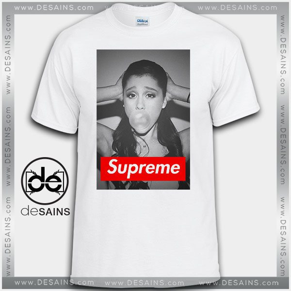 Cheap Graphic Tee Shirts Ariana Grande Supreme On Sale