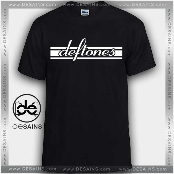 Cheap Graphic Tee Shirts Deftones Rock Band Logo On Sale