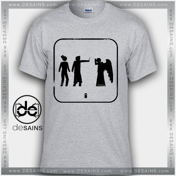 Cheap Graphic Tee Shirts Doctor Who Dont Blink On Sale