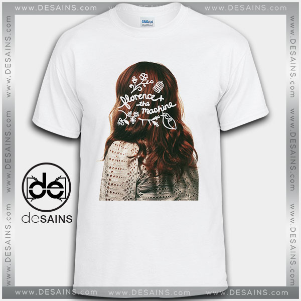 Cheap Graphic Tee Shirts Florence and the Machine on Sale