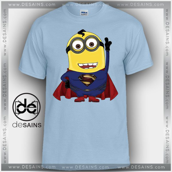 169271db Cheap Graphic Tee Shirts Man of Steel Minions Tshirt Kids and Adult