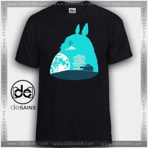Cheap Graphic Tee Shirts Totoro Movie Studio Ghibli On Sale