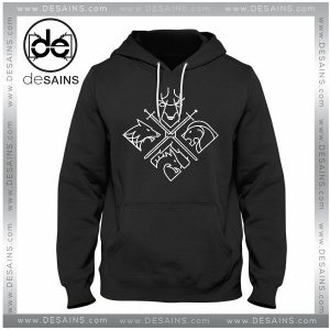 Cheap Graphic Hoodie Game of Thrones Minimal Thrones