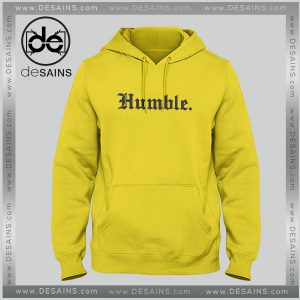Cheap Graphic Hoodie Humble Yellow Unisex Hoodies