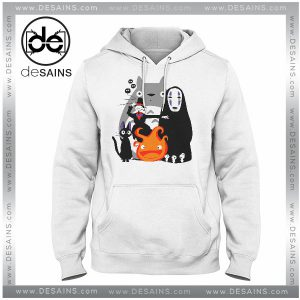 Cheap Graphic Hoodie Studio Ghibli Movies on Sale