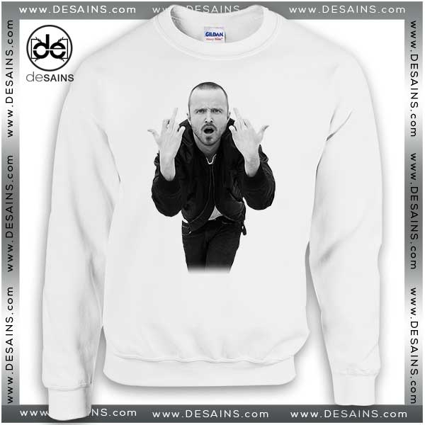 Cheap Graphic Sweatshirt Aaron Paul Poster on Sale
