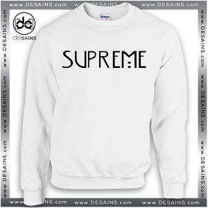 Cheap Graphic Sweatshirt American Horror Story Supreme Crewneck