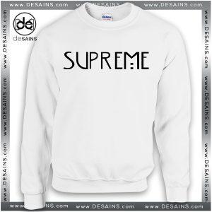 Cheap Graphic Sweatshirt American Horror Story Supreme Crewneck