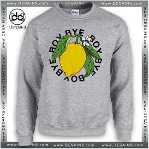 f77f5a86 Cheap Graphic Sweatshirt Bye Boy lemonade Beyoncé Sweater