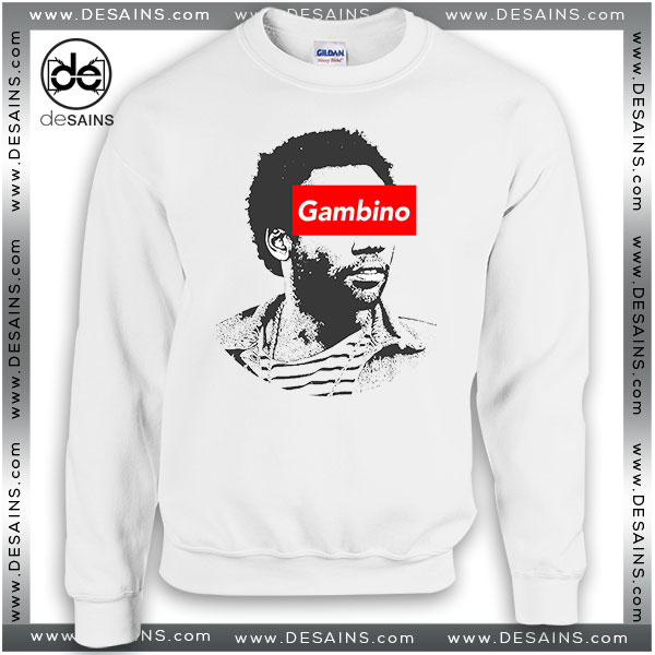 Cheap Graphic Sweatshirt Childish Gambino Donald Glover