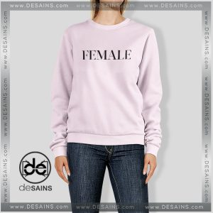 Cheap Graphic Sweatshirt Female Feminism on Sale