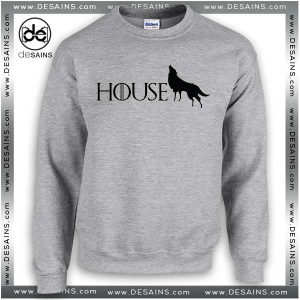 Cheap Graphic Sweatshirt Game of Thrones Stark Crewneck
