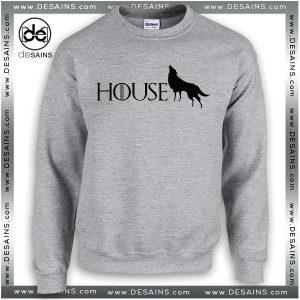 Cheap Graphic Sweatshirt Game of Thrones Stark Crewneck