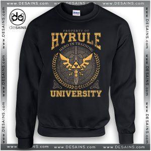 Cheap Graphic Sweatshirt Hyrule Warriors University on Sale