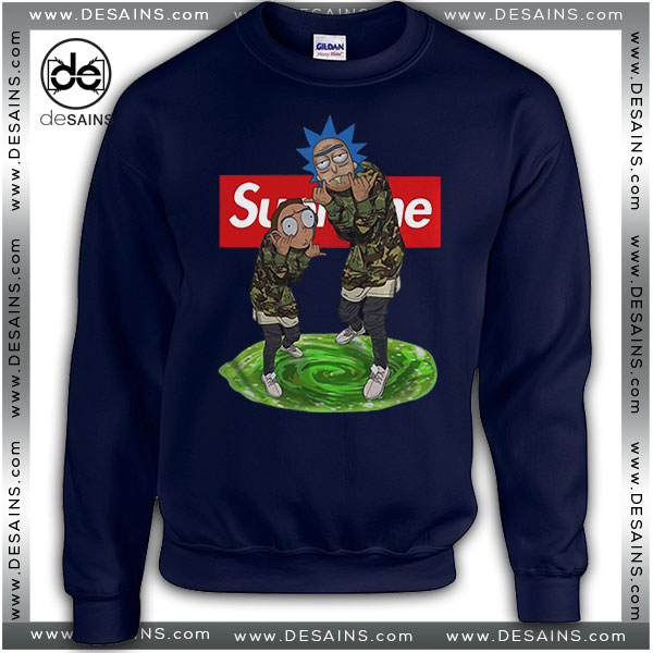 77305557 Cheap-Graphic-Sweatshirt-Supreme-Rick-and-Morty-Tee-Shirt.jpg