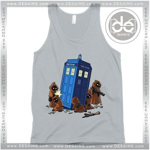 Cheap Graphic Tank Top Found Some Spare Parts Tardis