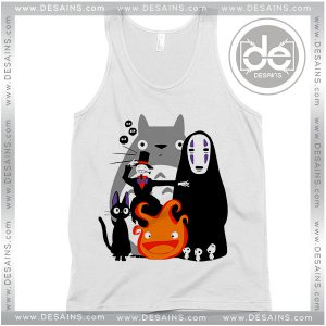 Cheap Graphic Tank Top Studio Ghibli Movies on Sale