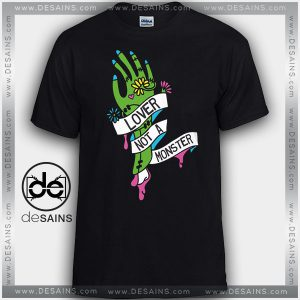 Cheap Graphic Tee Shirts 80s Lover Monster Halloween