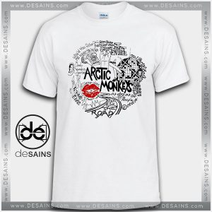 Cheap Graphic Tee Shirts Arctic monkeys Lyrics On Sale