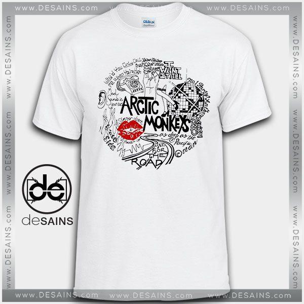 1b0ab194b74 Cheap Graphic Tee Shirts Arctic Monkeys Lyrics On Sale